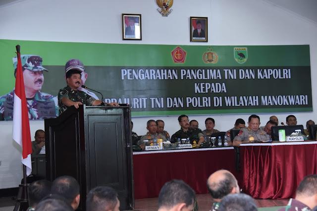 Panglima TNI : Sinergitas TNI-Polri Obat Ampuh Menjaga Keutuhan NKRI