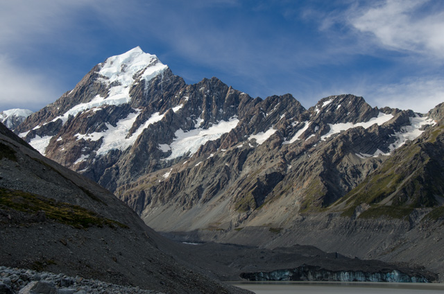 World travel marc peggy faucher better the second time around during our first afternoon in the park we hiked up the hooker valley towards mount cook the track crosses the hooker river twice on swing bridges before publicscrutiny Image collections