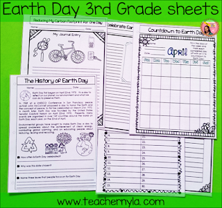 Earth Day Activities 3rd Grade