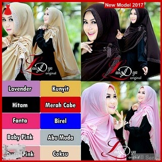 RYB029B HIjab Jilbab Cantik Syar Murah i BMG Online Shop