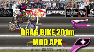 Download Game Drag Bike 201m Indonesia MOD APK Terbaru 2020