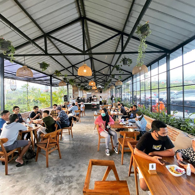 Lokasi Monstera Cafe Batu