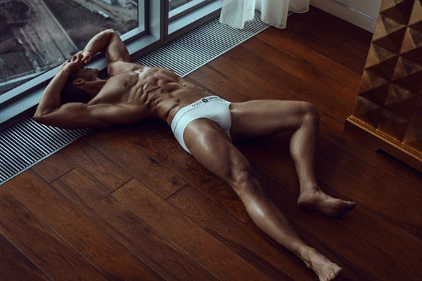 Andrey Pavlov Shirtless by Amer Mohamad