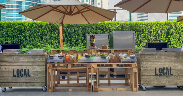 Tailgate brunch in Tryp by Wyndham Dubai