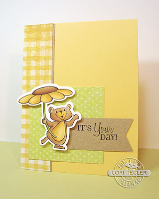 It's Your Day card-designed by Lori Tecler/Inking Aloud-stamps and dies from The Cat's Pajamas