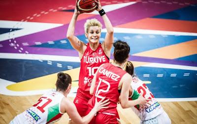 Eurobasket Women 2019 - Işıl Alben - Tuğçe Canıtez - Türkiye