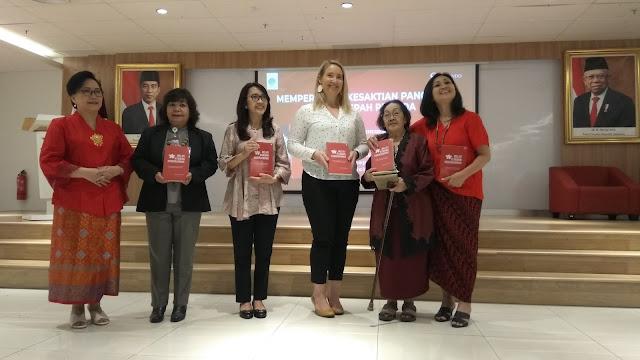Peluncuran Buku Melati di Taman Keberagaman sekaligus memperingati hari Kesaktian Pancasila dan Sumpah Pemuda (dok.windhu)