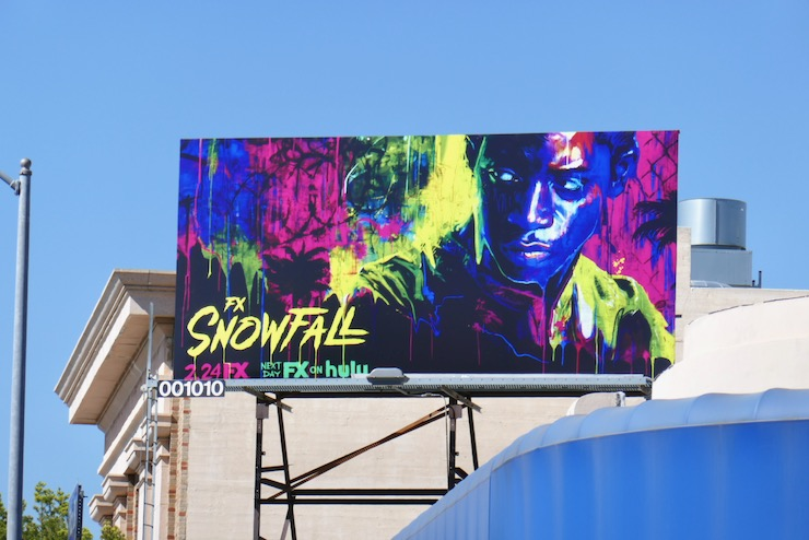 Snowfall season 4 billboard