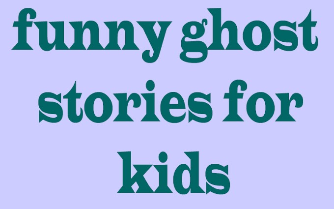 funny ghost stories for kids