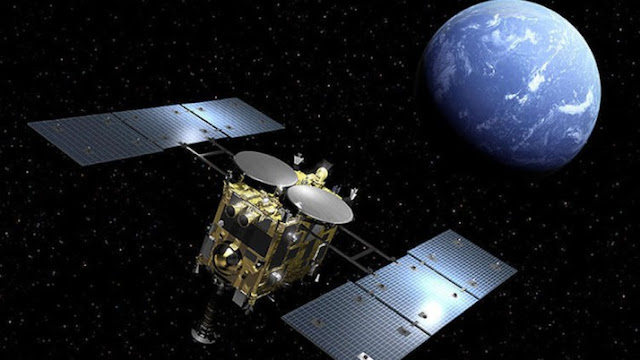 japani spaceship hayabusa2 brings back dust from asteroid