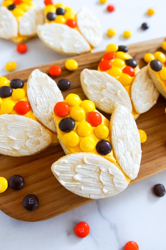 how to make calico corn cookies