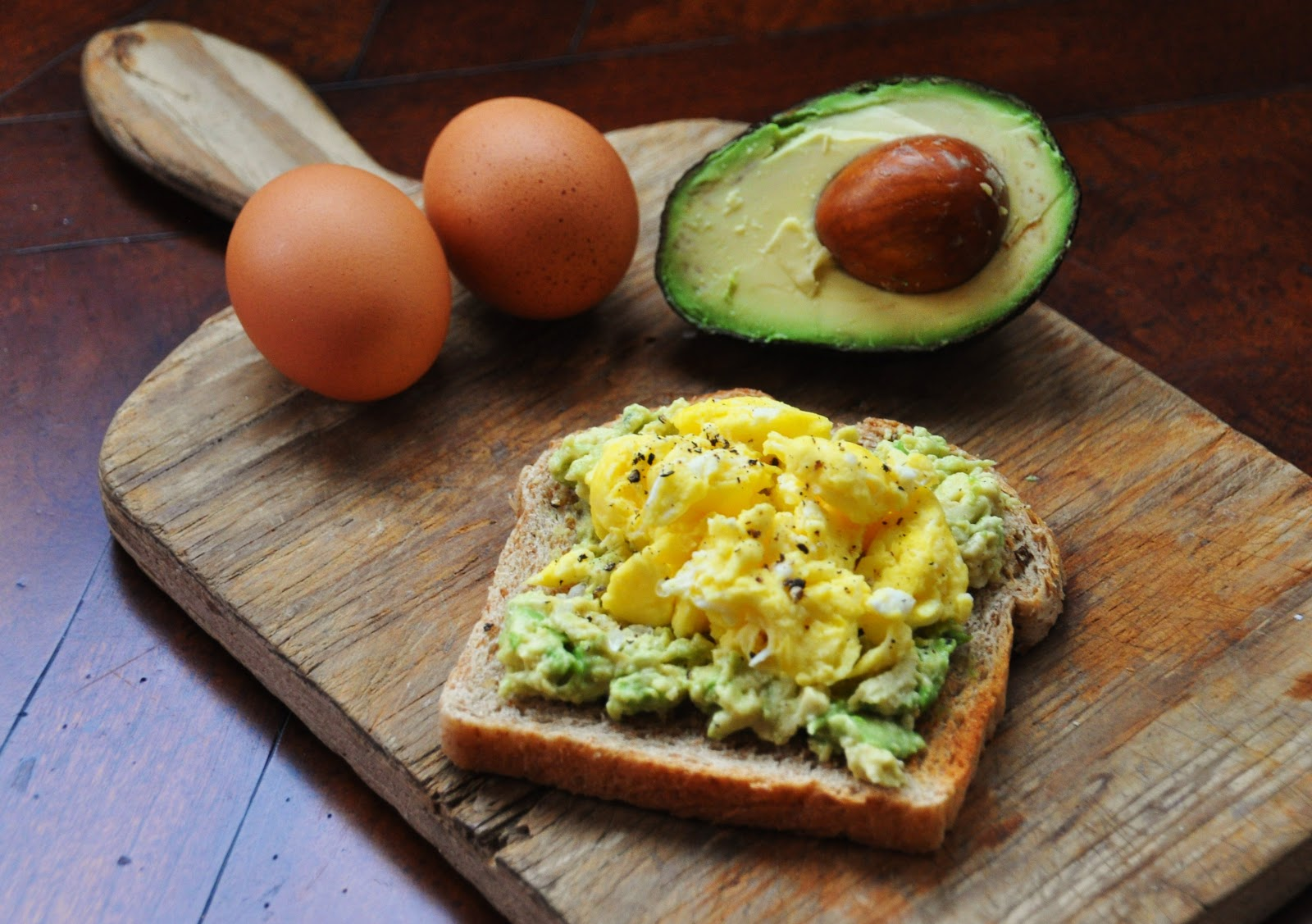 A La Graham Egg And Avocado Toast Clean Eating