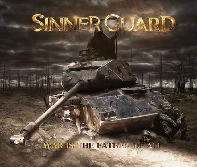 "Ο δίσκος των Sinner Guard ""War is the Father of All"""