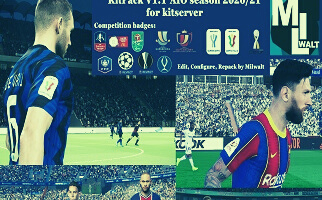 KitPack V1.1 | Temporada 2021 | Kitserver V1.6 | PES2020 | PC