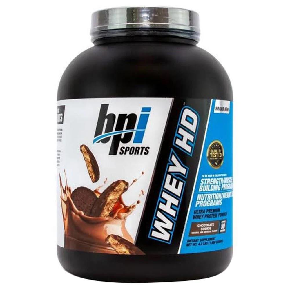 BPI Sports Whey-HD Ultra Premium, 4.2 lb