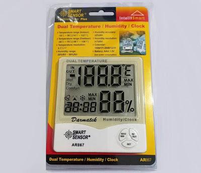 Jual Smart Sensor AR-867 Indoor - Outdoor ThermoHygrometer