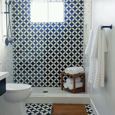 Desain kamar mandi biasa