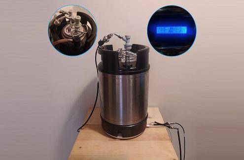 Control de Barriles DIY: Presión, litros, temperatura y humedad