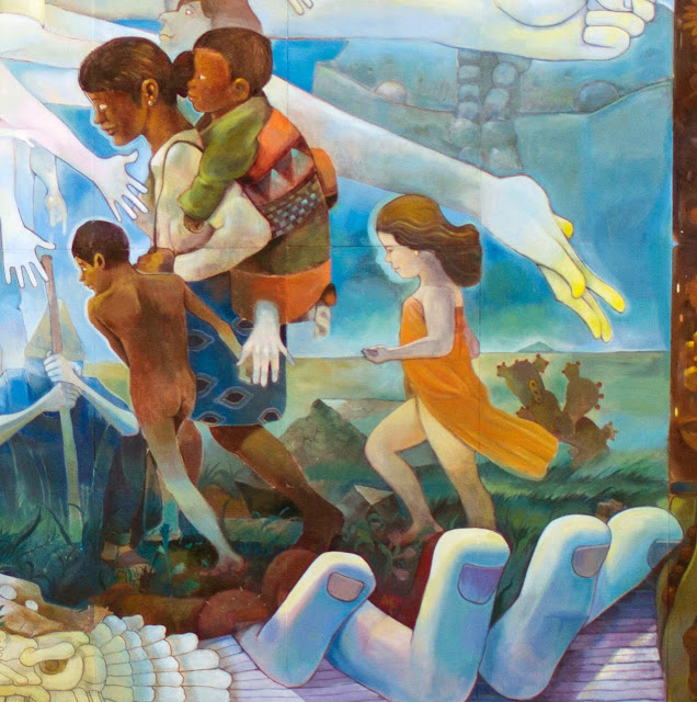 """Similia Similibus Curentur"" New Street Art Mural By Mexican Artist Dhear in Mexico DF. 2"