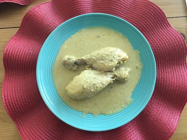 Receta de Chicken Korma
