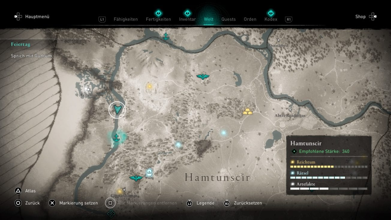 Assassin's Creed Valhalla: Here you can find Ubba after the holiday quest - location