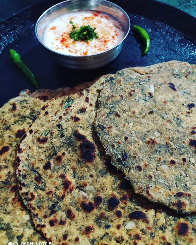 Gujrati Thepla Recipe|Methi Paratha Recipe| Easy Methi Paratha Recipe