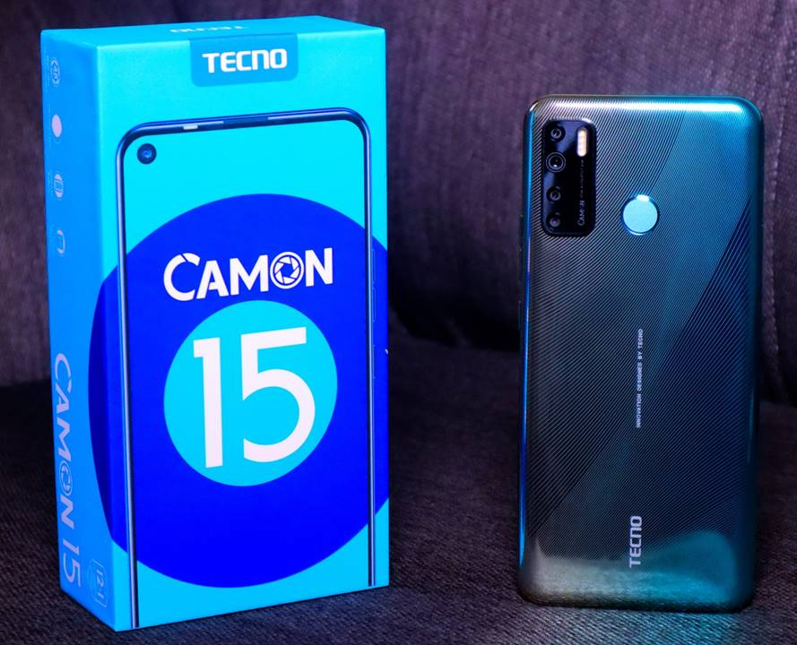 Tecno Camon 15 Price in Cameroon, Specifications, Review and Where to Buy