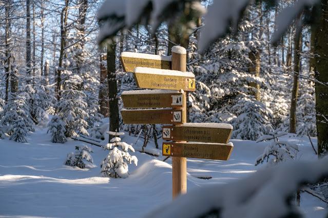 Rundweg Felswandergebiet  Wandern im Nationalpark Bayerischer Wald 11