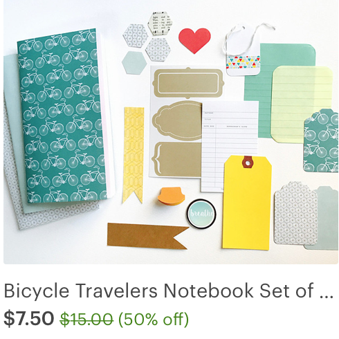 #sale #midori #notebook #journal #bicycle #insert #planner #travelers notebook #iloveitallshop