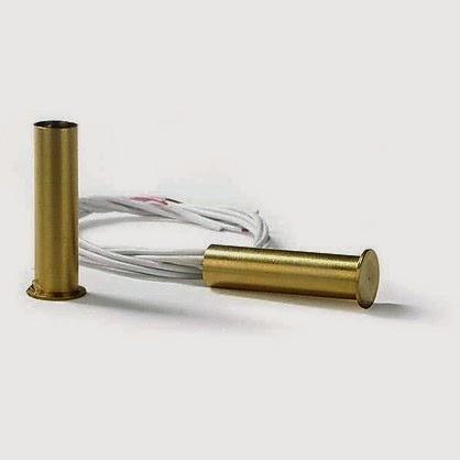 Allarme senza fili contatti magnetici per porte e finestre come antifurto - Contatti magnetici per finestre vasistas ...