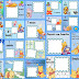 Sweet Baby Pooh Free Printable First Year (Month by Month) Photo Album.