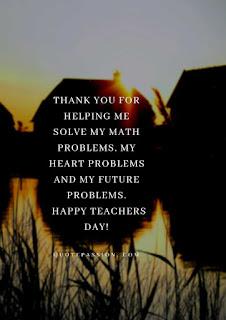 Teachers Day Quote 2019