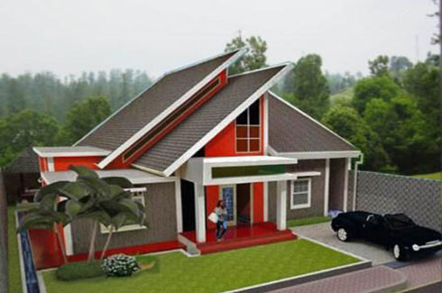 50 contoh model atap rumah minimalis modern - rumahku unik