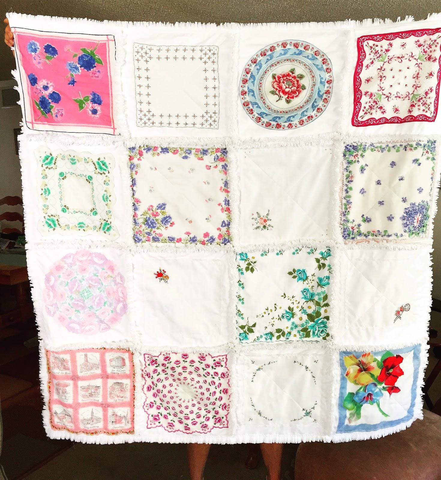 Handkerchief Rag Quilt