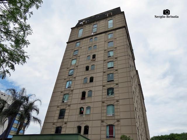 Vista ampla do Inacabado Hotel Comfort Anhembi - Santana - São Paulo