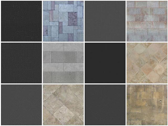 8_seamless texture_paving_stone_sidewalks-#8b