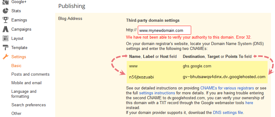 How To Set Custom Domain on Blogger Full Setup