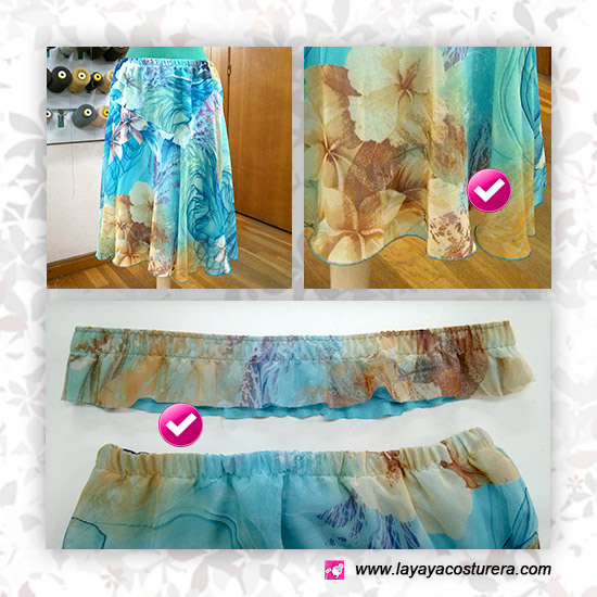 acortar falda