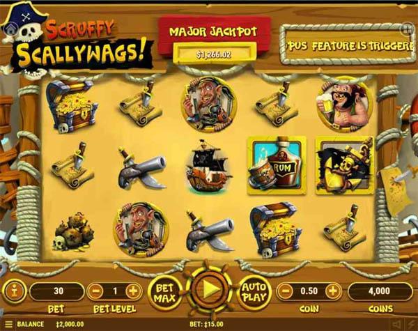 Main Gratis Slot Indonesia - Scruffy Scallywags Habanero