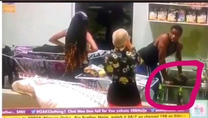 #BBNaija: Nengi caught Neo washing Vee's panties see video