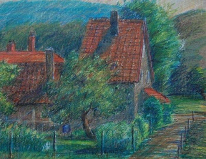 Немецкий художник.
