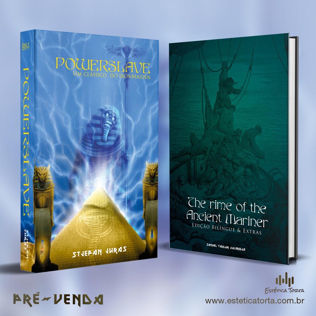 """Powerslave: terceiro livro da série """"Biblioteca Iron Maiden"""" é lançado no Brasil"""