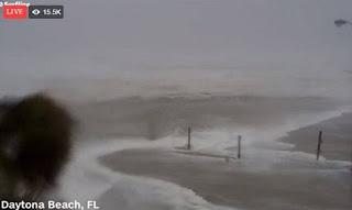 Τυφώνας Μάθιου: Δείτε LIVE εικόνα από τη Φλόριντα