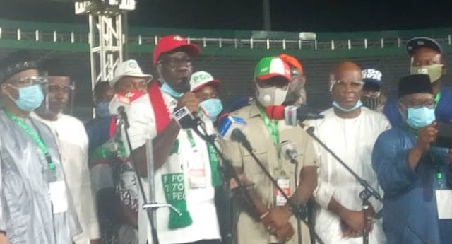 OFFICIAL! Godwin Obaseki emerges as PDP's gubernatorial candidate for Edo election