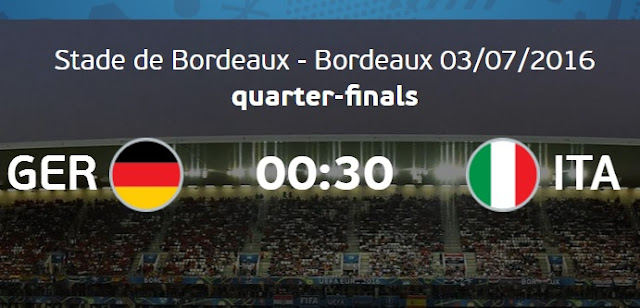 Germany Vs Italy Live Stream watch online