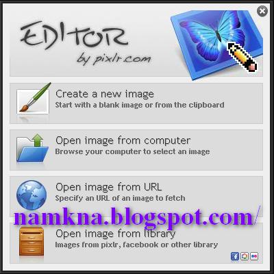 Chèn tiện ích Photo Editor Online của pixlr.com vào blog, chèn chức năng chỉnh sửa hình ảnh vào blogspot - http://namkna.blogspot.com/