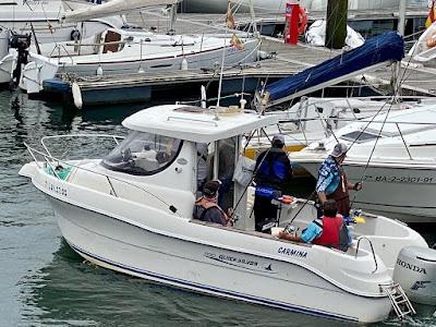 PHOTO 2021 08 17 20 45 59 - Embarcación Fondeada: Otra gran actuación de Jose Gayoso y del club O Capote