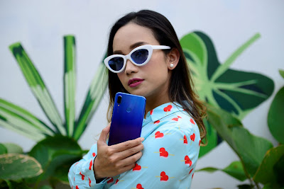 Membuat konten dengan Huawei Nova 3i