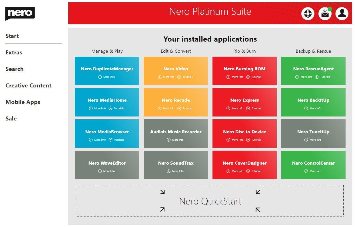 تحميل النسخة الكاملة من برنامج Nero Platinum Suite 2020 v22.0.01700 مع التفعيل