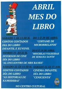 A GUARDA: ABRIL, MES DO LIBRO